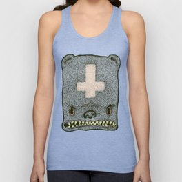Evil Ted Unisex Tank Top