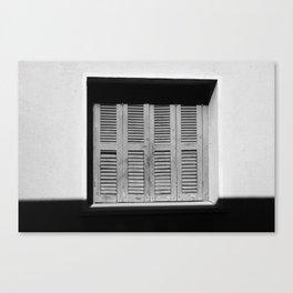 Shutters Canvas Print
