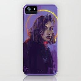 HOLY (King Princess) iPhone Case