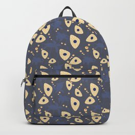 Swimming Turtles blue Backpack