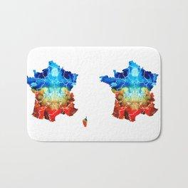 France - European Map by Sharon Cummings Bath Mat