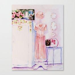 A pretty room Canvas Print