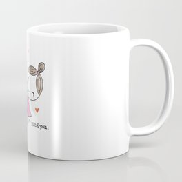 Me and Bae - I Love You Cartoon Coffee Mug