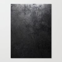 concrete Canvas Prints featuring CONCRETE by Danielle Fedorshik