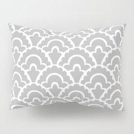 Fan Pattern Gray 115 Pillow Sham
