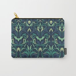 moss damask Carry-All Pouch