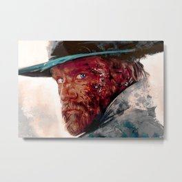 Wounded Cowboy Metal Print