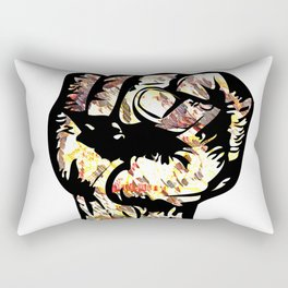 Resist with Art  by Eric Stamps  Rectangular Pillow