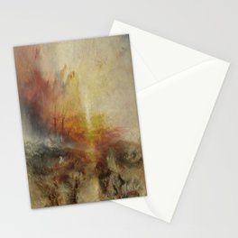 Joseph Mallord William Turner's The Slave Ship Stationery Cards