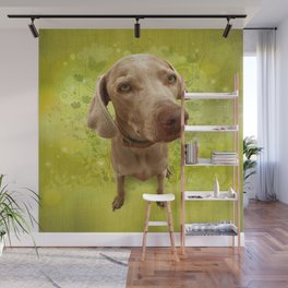 PARKER POSEY (kiwi) puffy cloud series Wall Mural