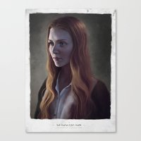 renaissance Canvas Prints featuring Renaissance by Isabella Morawetz