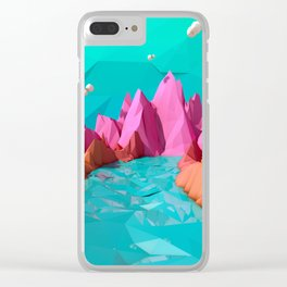 spring deny Clear iPhone Case