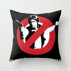 Bountyhunters Throw Pillow