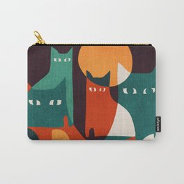 Cat Family Carry-All Pouch