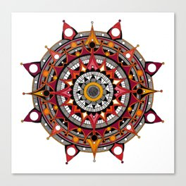 mandala 004 Canvas Print