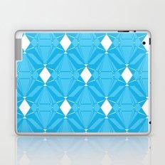 Abstract [BLUE] Emeralds Laptop & iPad Skin