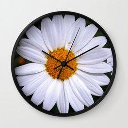 Marguerites - Flowerpower Wall Clock