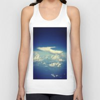 cloud Tank Tops featuring  Cloud by Sumii Haleem