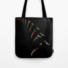 Walking Stripes Tote Bag