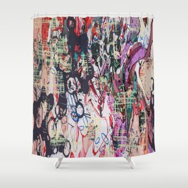 Paroxysm Shower Curtain