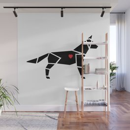 Man's Best Friend Wall Mural