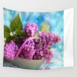 Syringa vulgaris #lilac still life Wall Tapestry
