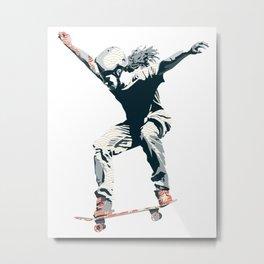 Skater 2 Metal Print