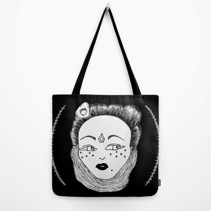 Crystal Witch Tote Bag