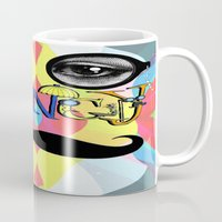 font Mugs featuring Fancy Font by Madison R. Leavelle