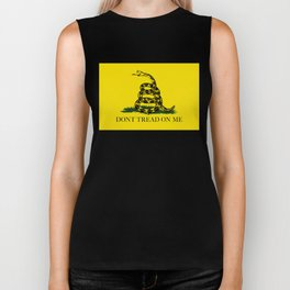 Don't Tread On Me Gadsden Flag Biker Tank