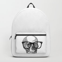 I die hipster - skull Backpack
