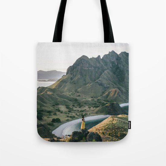 Yellow Moutain Tote Bag