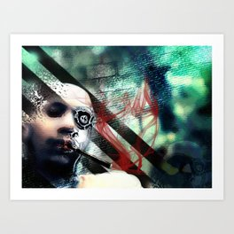Abstraction, Distraction Art Print