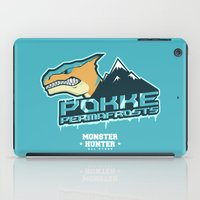 monster hunter iPad Cases featuring Monster Hunter All Stars - Pokke Permafrosts  by Bleached ink