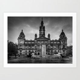 Glasgow Chambers Art Print