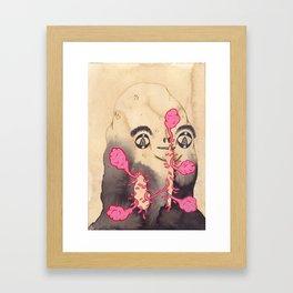 Ayo Maggots Framed Art Print