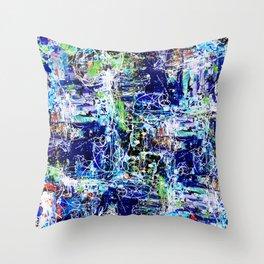 Stuttering 1995 Throw Pillow