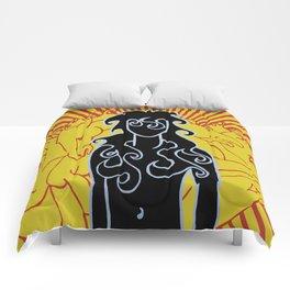 Venus in Transit Comforters