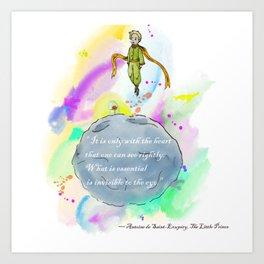 Little Prince World Art Print