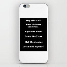 Princess's Virtues iPhone Skin