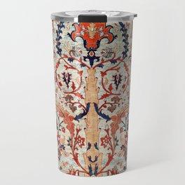 Tabriz Azerbaijan Northwest Persian Silk Rug Print Travel Mug