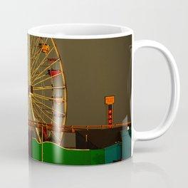 Pacific Park at sunset Coffee Mug