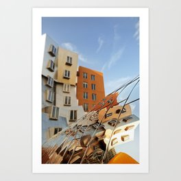 The Ray and Maria Stata Center Art Print