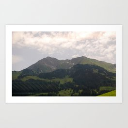 Switzerland 2 Art Print