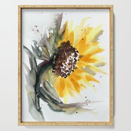 Sunflower for Evie Serving Tray