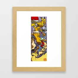 Electric Boogaloo Framed Art Print