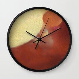 Textured Bubbles Wall Clock