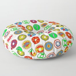 Superhero Donuts Floor Pillow