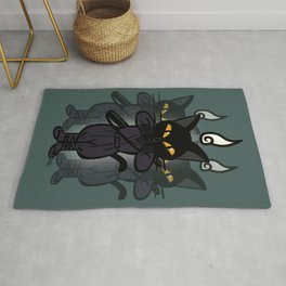 Art of division Rug
