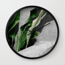 By The Leaves Wall Clock
